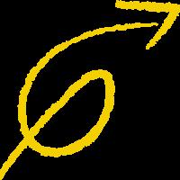 Loop Arrow Yellow